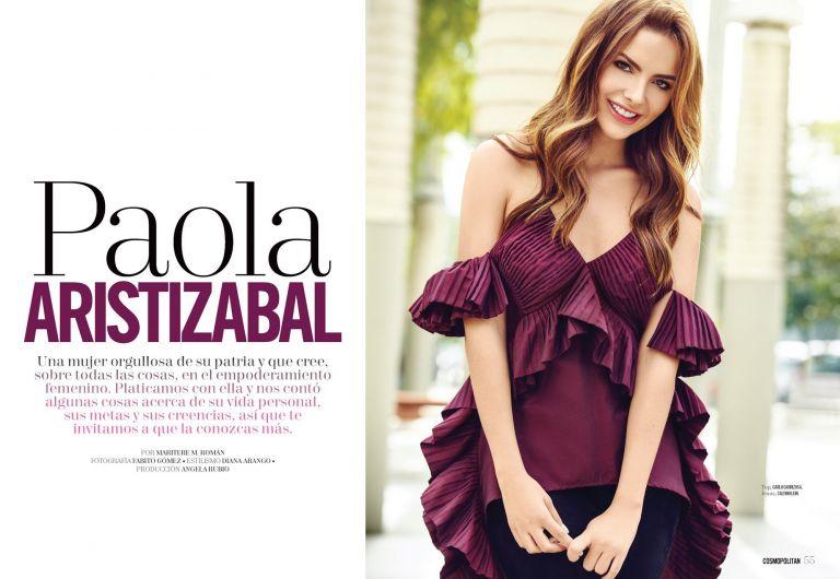 Cosmopolitan - Paola Aristizabal - Centroamerica - 2018