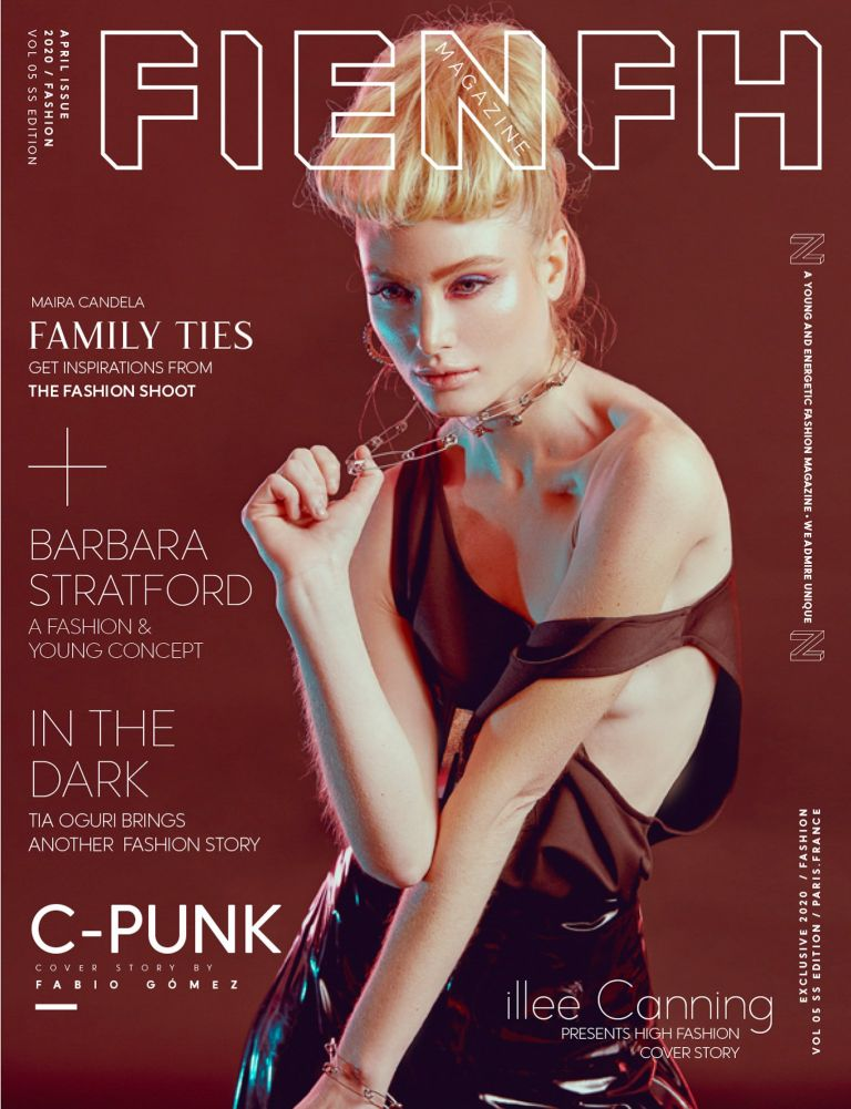 COVER - C-PUNK - FIENFH MAGAZINE. Paris, France - 2020.