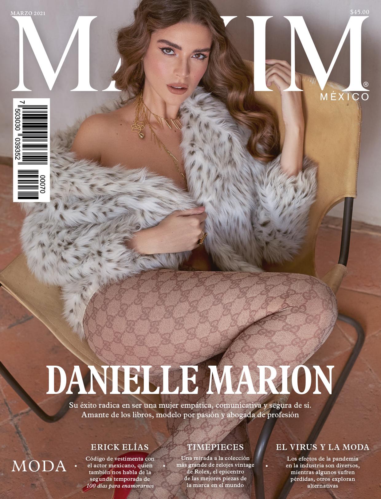 Danielle Marion, romper con el estandar